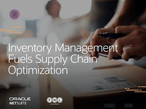 Inventory Management fuels supply chain optimisation