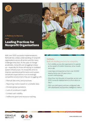 Leading practices for Non profit