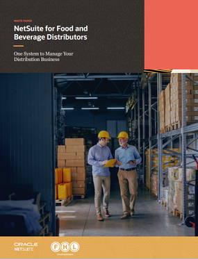 NetSuite for Food and bev distributors