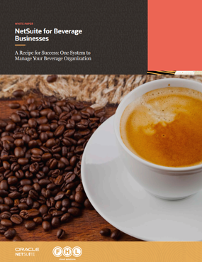 NetSuite for beverage businesses