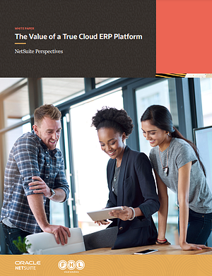 The Value of a True Cloud ERP Platform