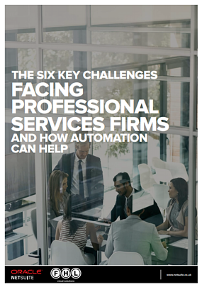 The six key challenges facing professional services firms