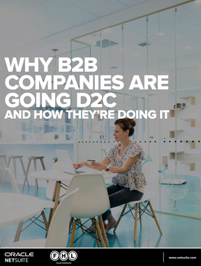 Why B2B companies are going D2C