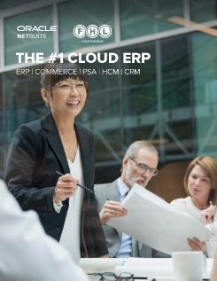 The #1 Cloud ERP